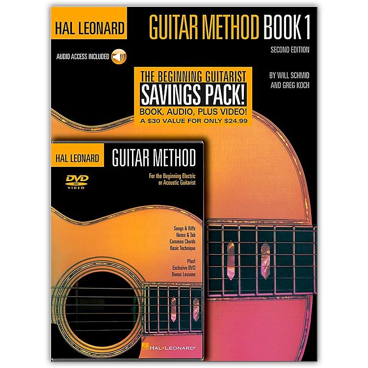Hal LeonardGuitar Method Book 1 / CD / DVD