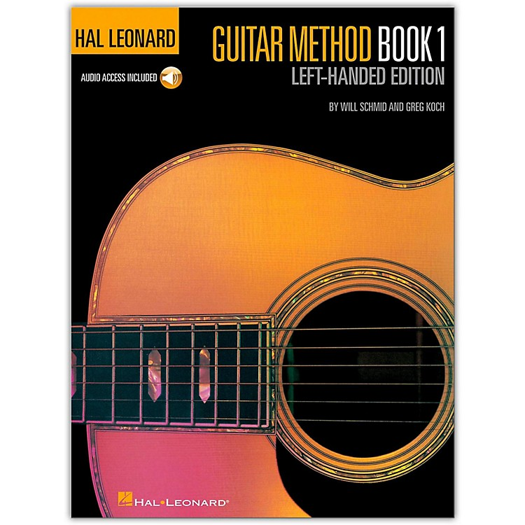 Hal LeonardGuitar Method Book 1 with CD (Left-Handed Edition)