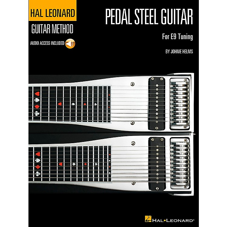 Hal LeonardGuitar Method Pedal Steel Guitar Book/CD for E9 Tuning