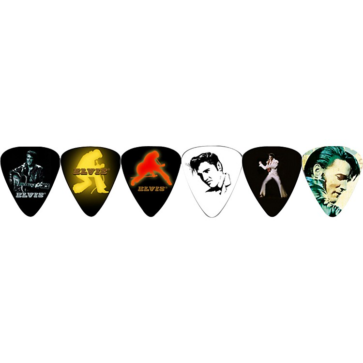 Perri's Guitar Picks - 12 Pack of Elvis Elvis Presley