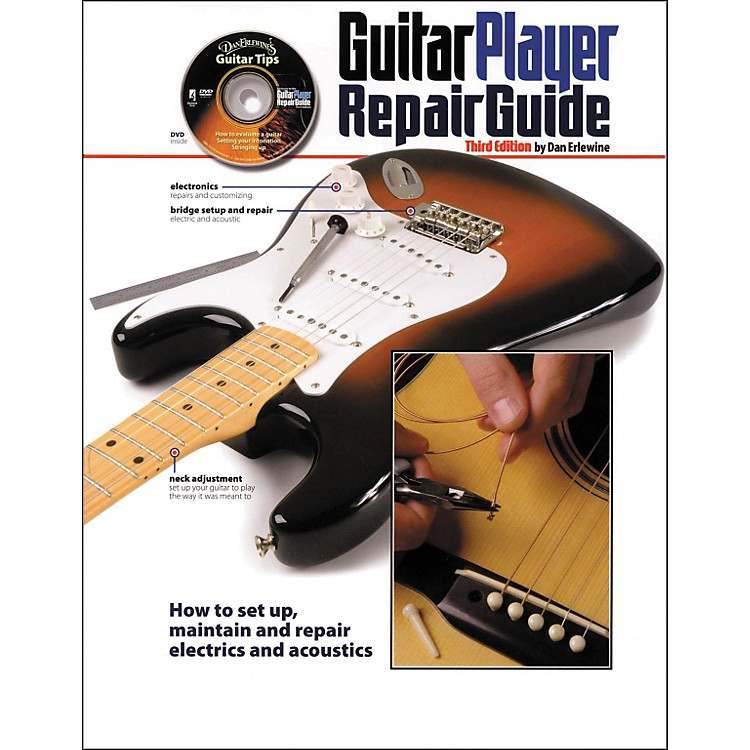 Hal Leonard Guitar Player Repair Guide - 3rd Revised Edition (Book/DVD)