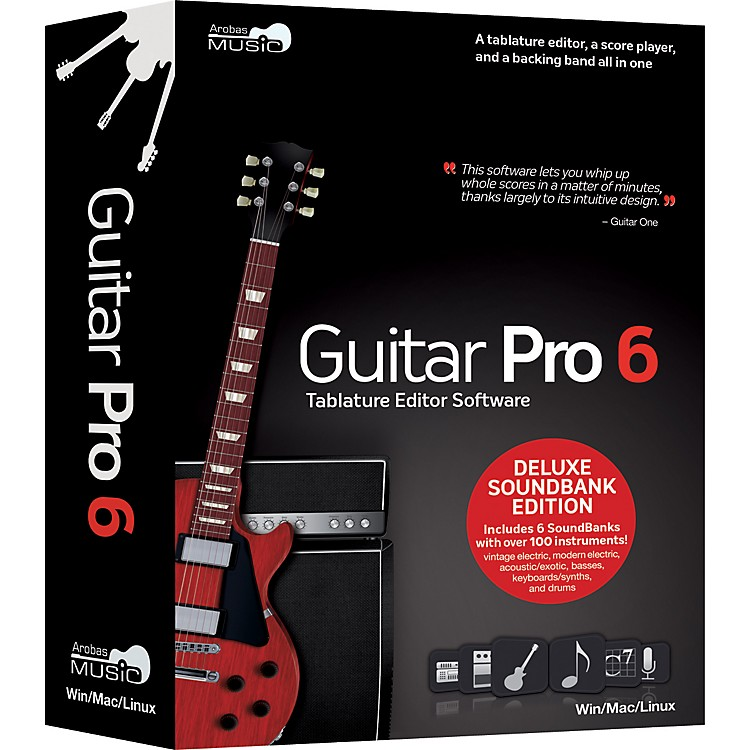 Arobas Music Guitar Pro 6.0 Deluxe Soundbank CD-ROM