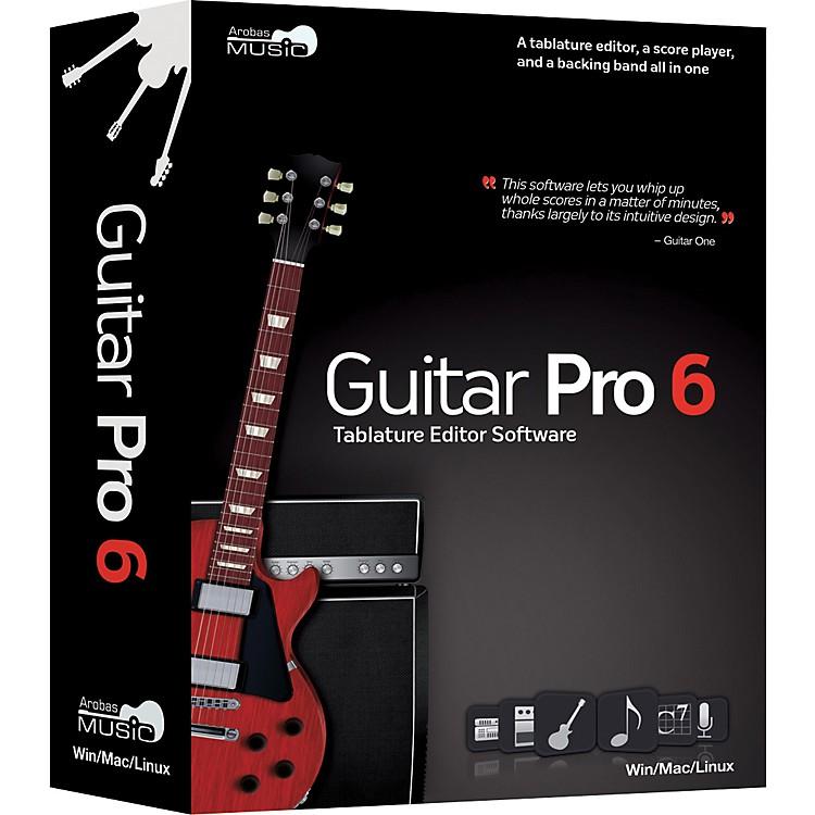 Arobas MusicGuitar Pro 6.0 Tablature Editing Software