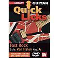 Mel Bay Guitar Quick Licks - Van Halen Style, Fast Rock