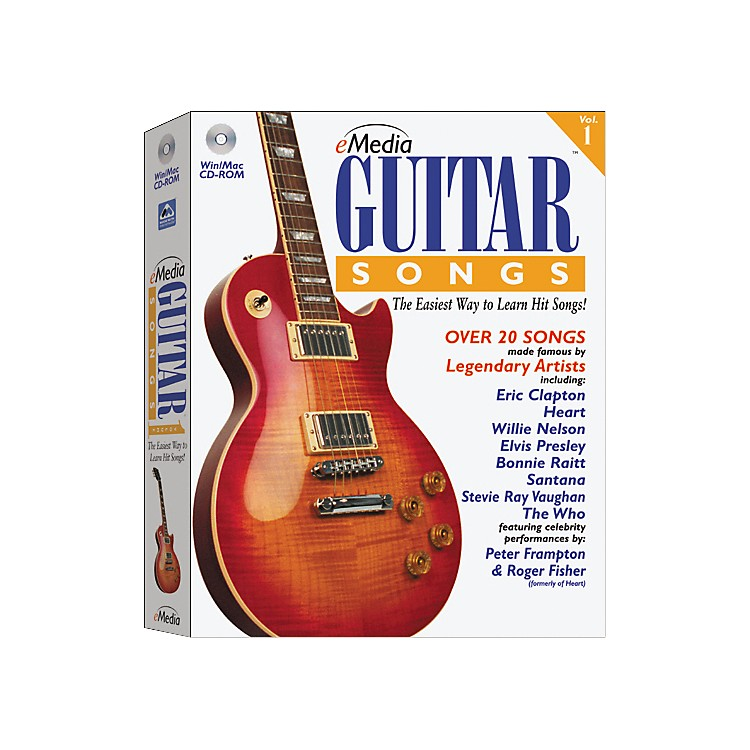 eMedia Guitar Songs Hybrid CD Win/Mac
