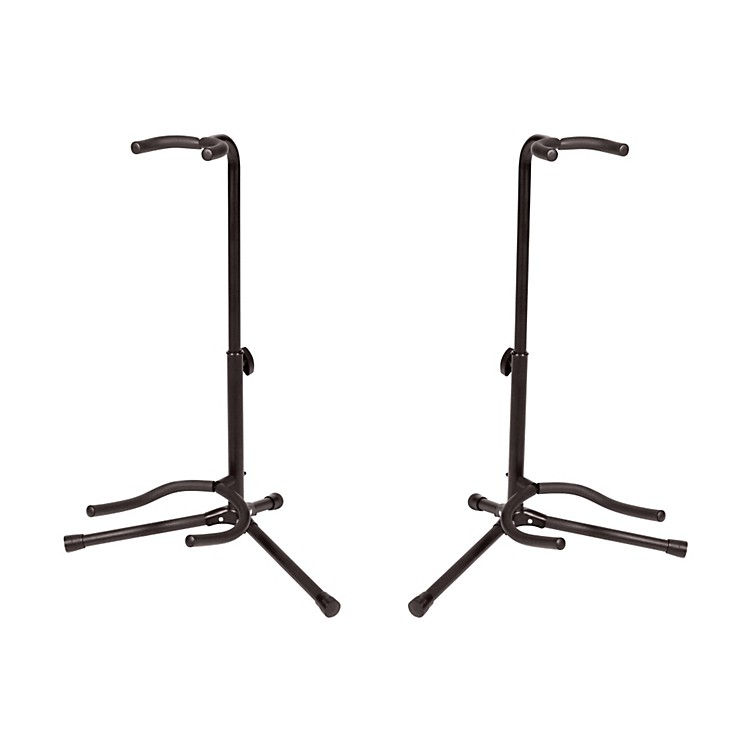 Gear One Guitar Stand 2-Pack Black