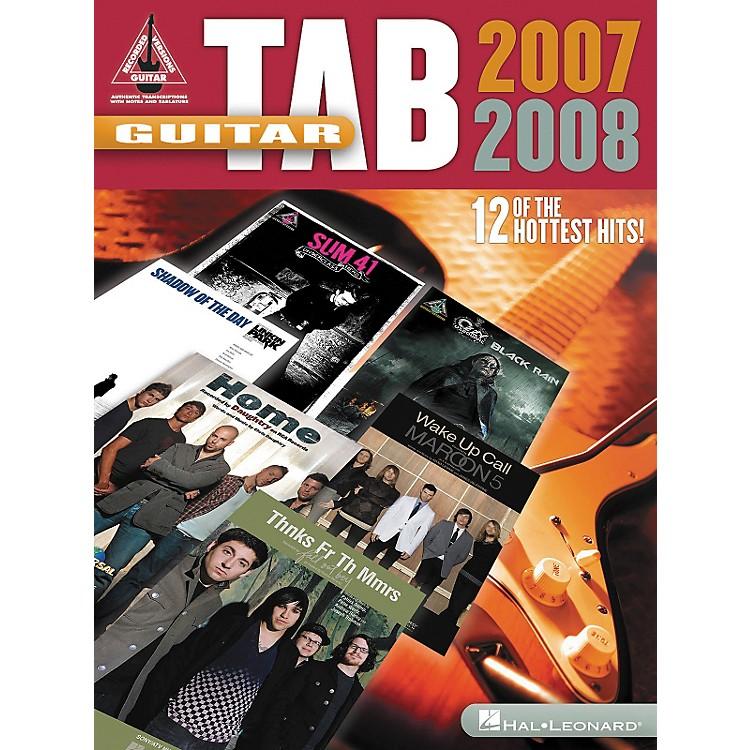 Hal LeonardGuitar Tab 2007-2008 Songbook