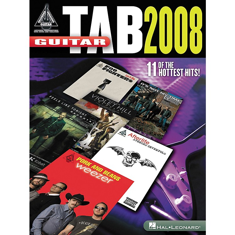 Hal Leonard Guitar Tab 2008 - Guitar Recorded Version Series (Songbook)