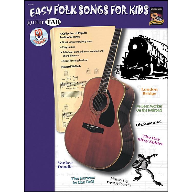AlfredGuitar Tab: Easy Folk for Kids Book/CD