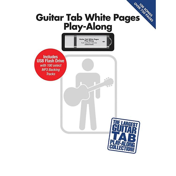 Hal LeonardGuitar Tab White Pages Play-Along Book/USB