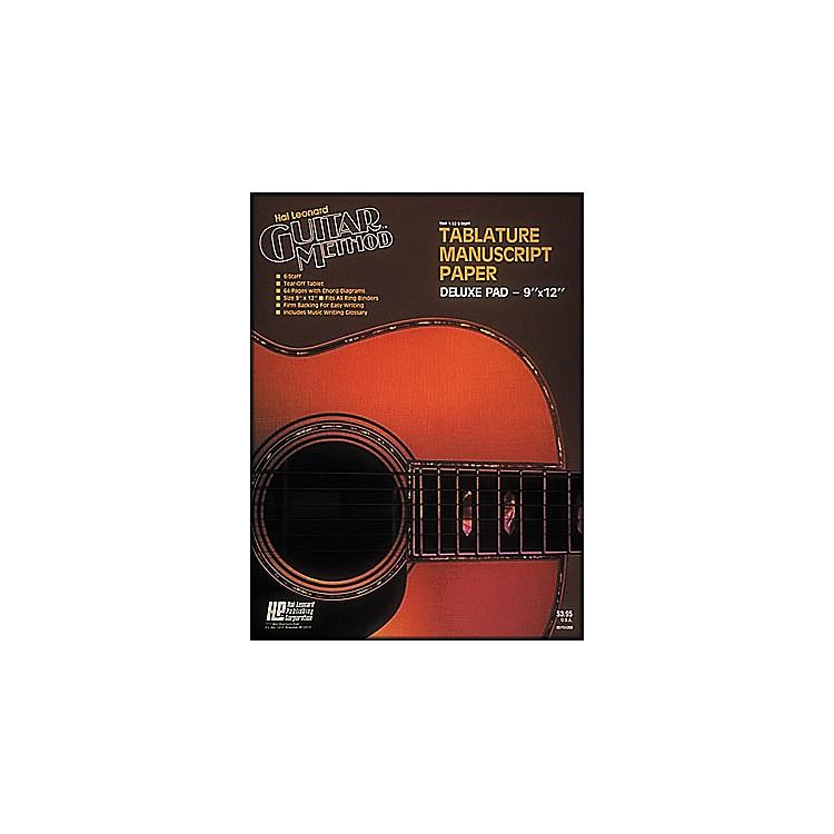 Hal LeonardGuitar Tablature Manuscript Paper Deluxe