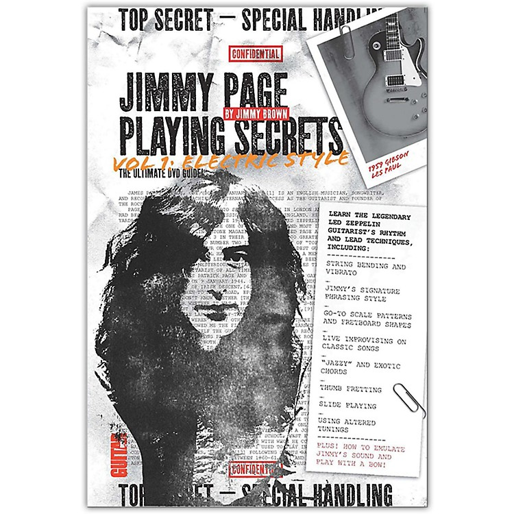 Alfred Guitar World - Jimmy Page Playing Secrets DVD Intermediate