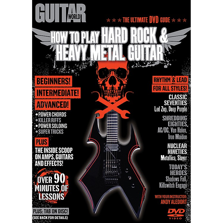 AlfredGuitar World How To Play Hard Rock & Heavy Metal Guitar (DVD)