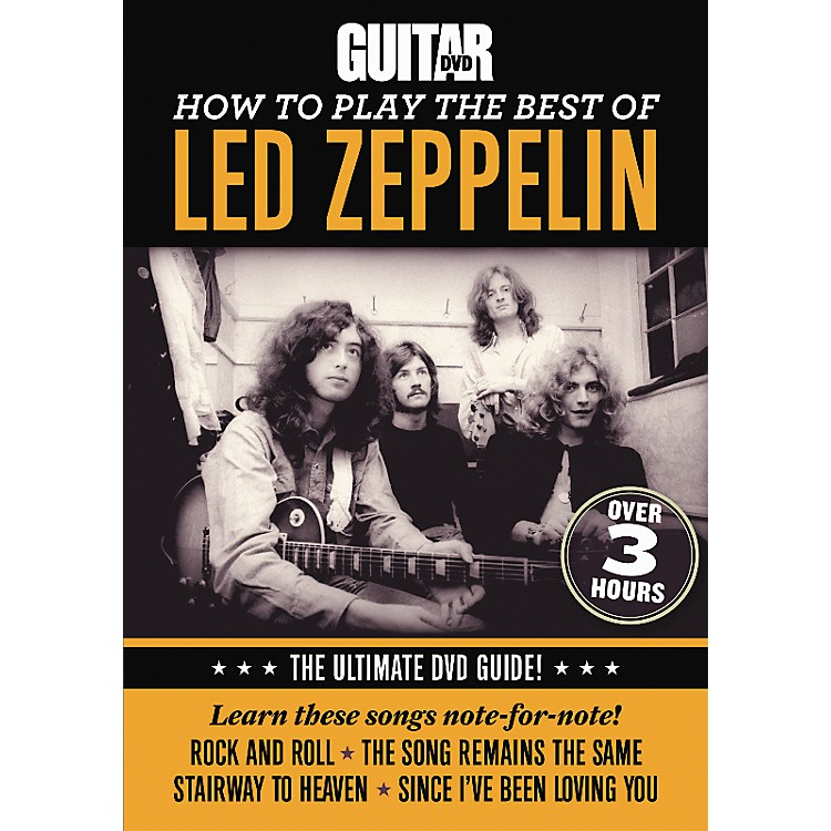 AlfredGuitar World How To Play The Best Of Led Zeppelin DVD