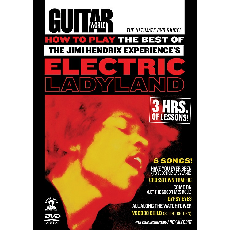 AlfredGuitar World How To Play The Best of The Jimi Hendrix Experience's Electric Ladyland DVD