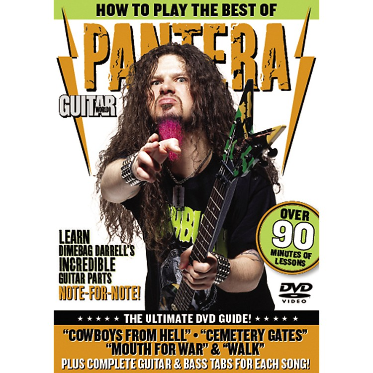 AlfredGuitar World: How To Play the Best of Pantera (DVD)