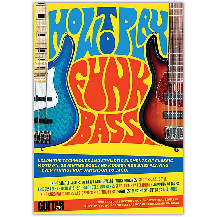 AlfredGuitar World: How to Play Funk Bass DVD