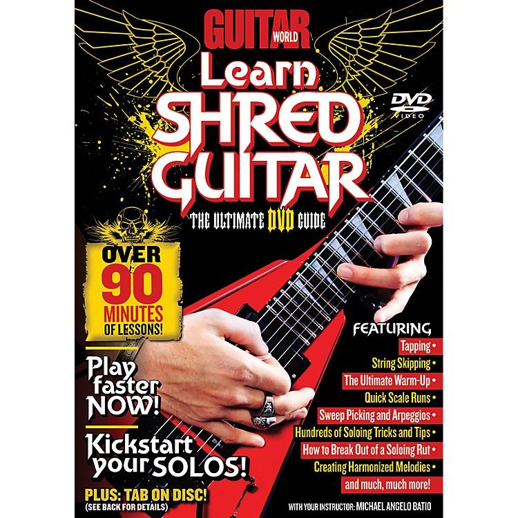 AlfredGuitar World Learn Shred Guitar DVD