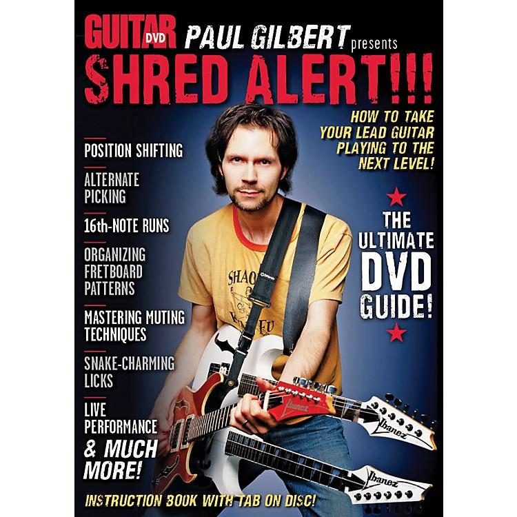 AlfredGuitar World Paul Gilbert presents Shred Alert! DVD