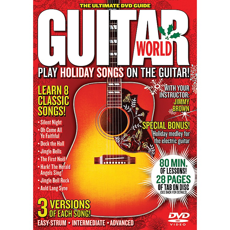 AlfredGuitar World Play Holiday Songs on the Guitar (DVD)