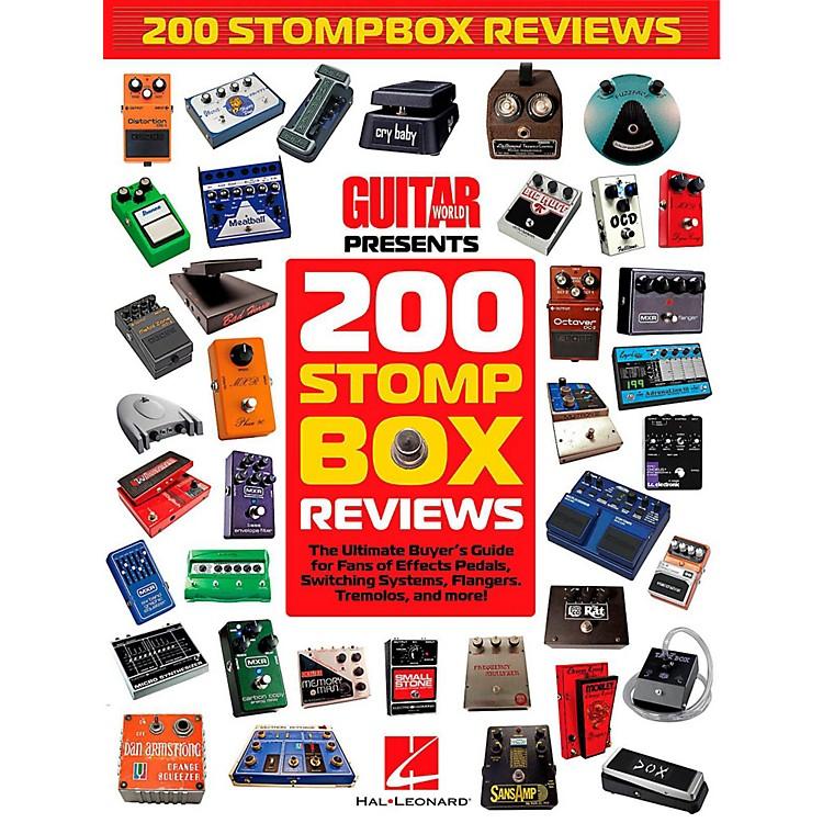 Hal LeonardGuitar World Presents 200 Stompbox Reviews