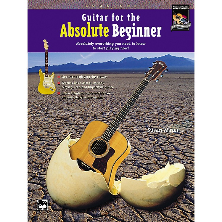 AlfredGuitar for the Absolute Beginner Book 1 with DVD