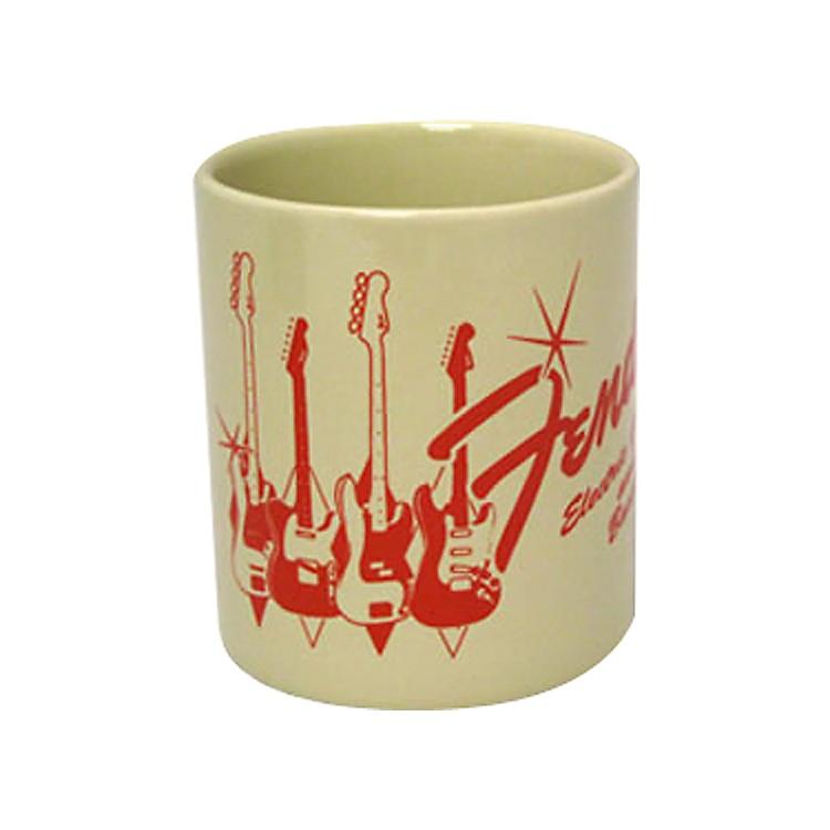 FenderGuitars and Basses Coffee Mug