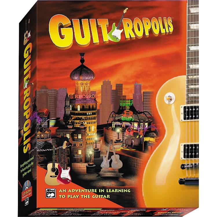 AlfredGuitropolis CD-ROM