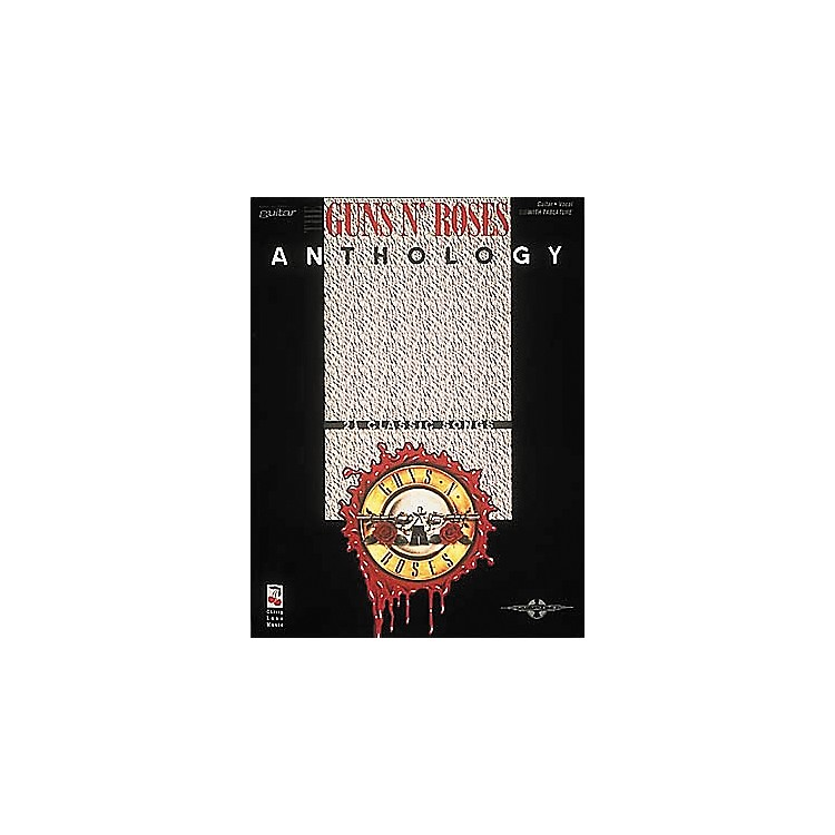 Hal Leonard Guns N' Roses Anthology Guitar Tab Book