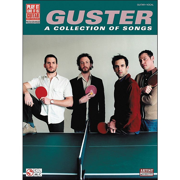 Cherry Lane Guster - A Collection Of Songs Tab Book