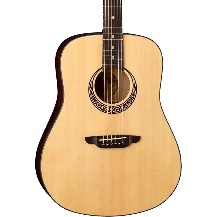 Luna Guitars Gypsy Series Gypsy Muse Dreadnought Acoustic Guitar Natural