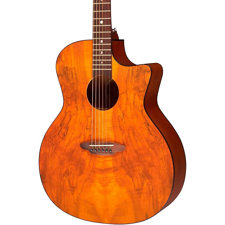 Luna Guitars Gypsy Spalt Grand Auditorium Acoustic Guitar