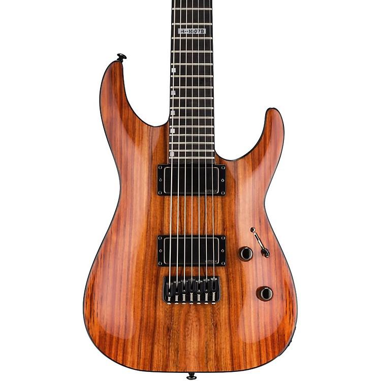 ESPH-1007B 7-String Baritone Limited Edition Koa Electric GuitarNatural