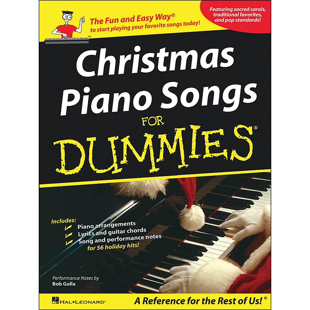 Hal Leonard Christmas Piano Songs for Dummies