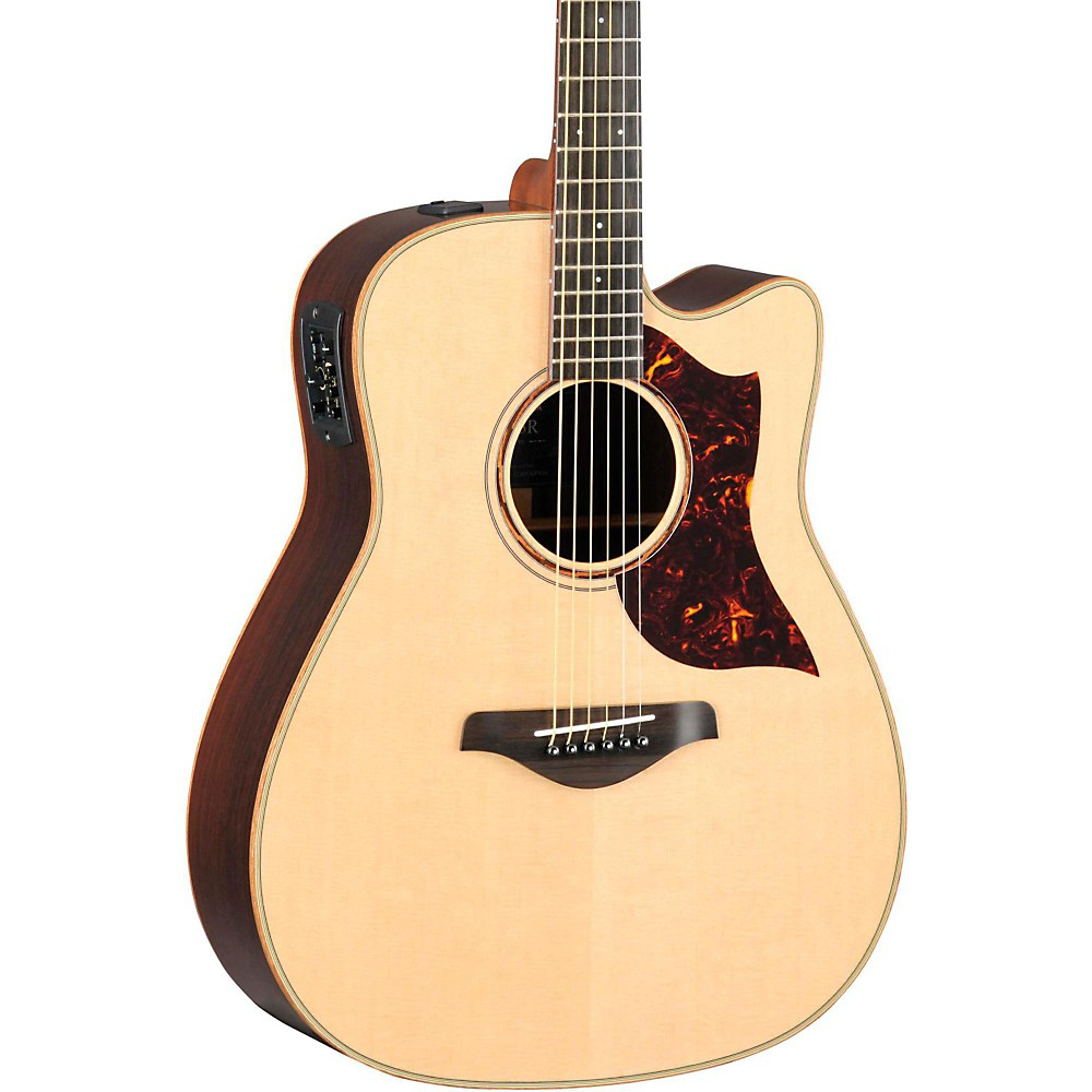 3998626d06 UPC 086792323473 product image for Yamaha A-Series All Solid Wood Dreadnought  Acoustic-Electric ...