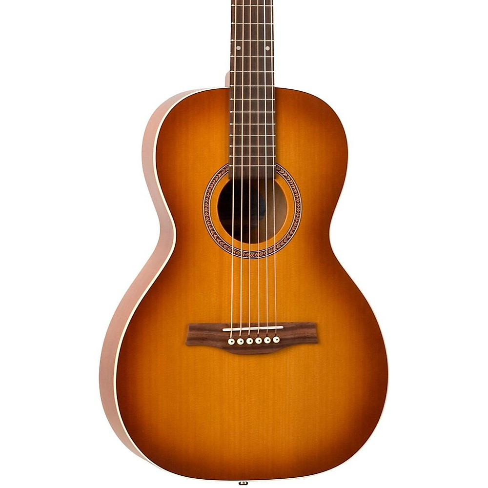 seagull entourage grand parlor acoustic electric parlor guitar rustic ebay. Black Bedroom Furniture Sets. Home Design Ideas