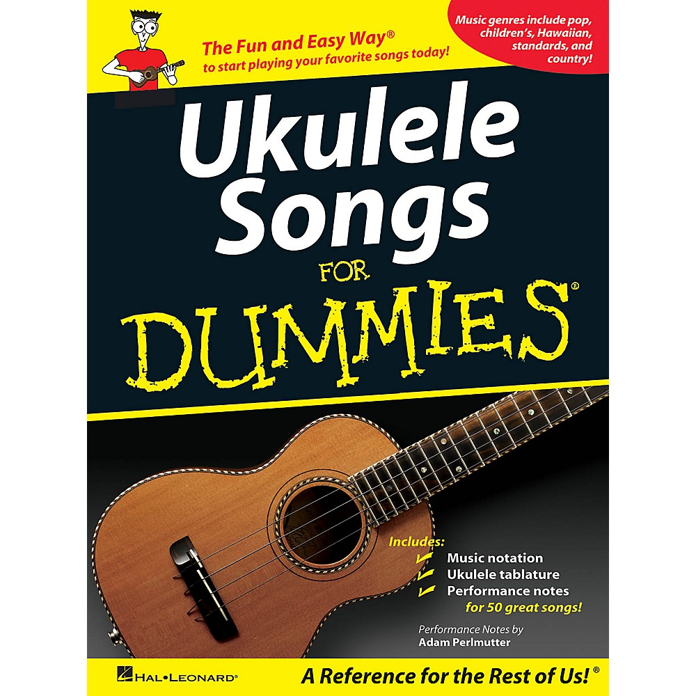 Hal Leonard Ukulele Songs For Dummies Songbook