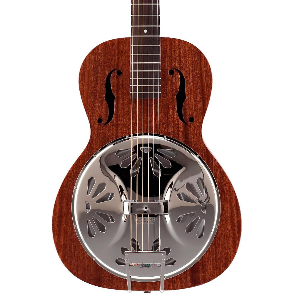 gretsch g9200 boxcar round neck resonator guitar 2715010521 exc ebay. Black Bedroom Furniture Sets. Home Design Ideas