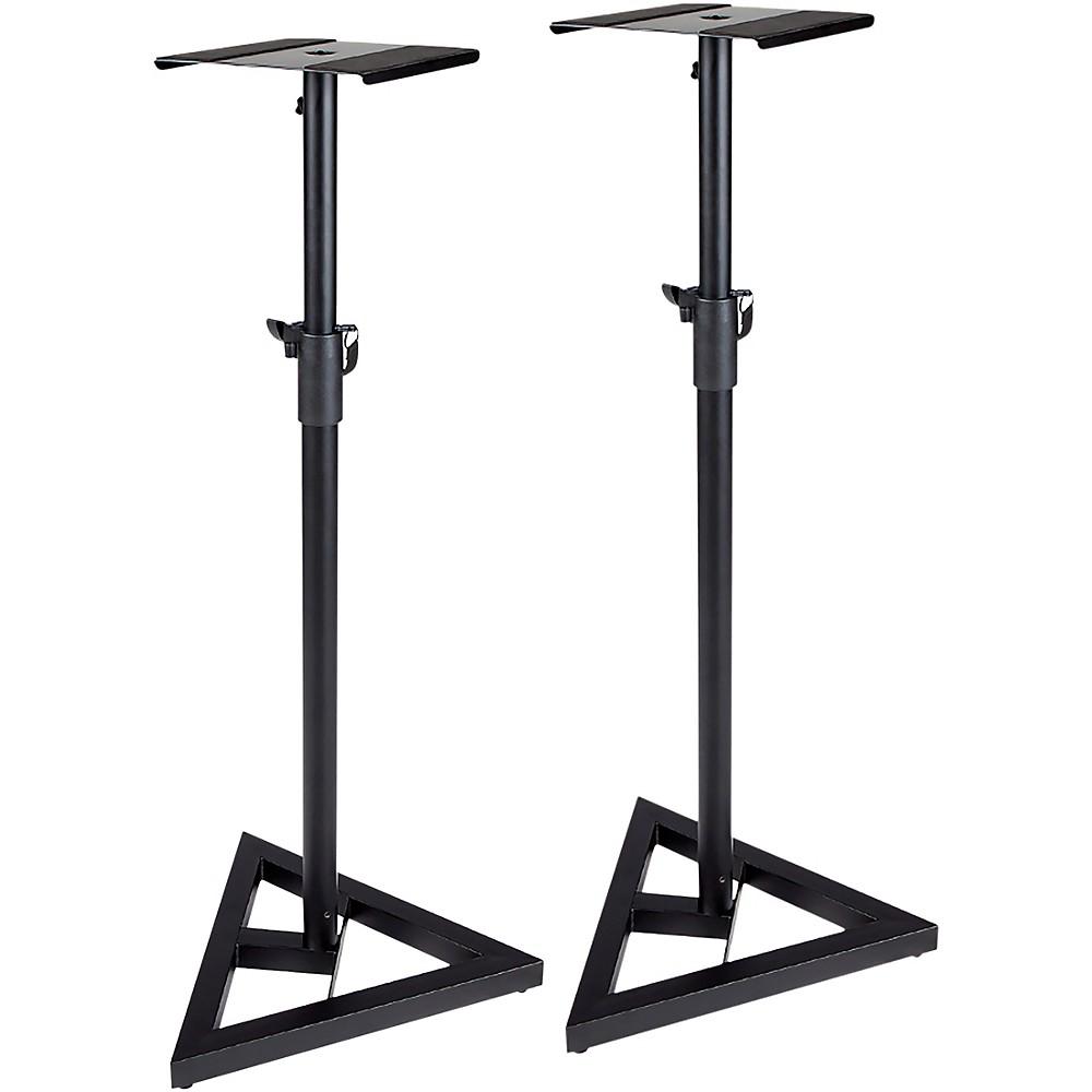 ProLine Adjustable Studio Monitor Stand - Pair Black