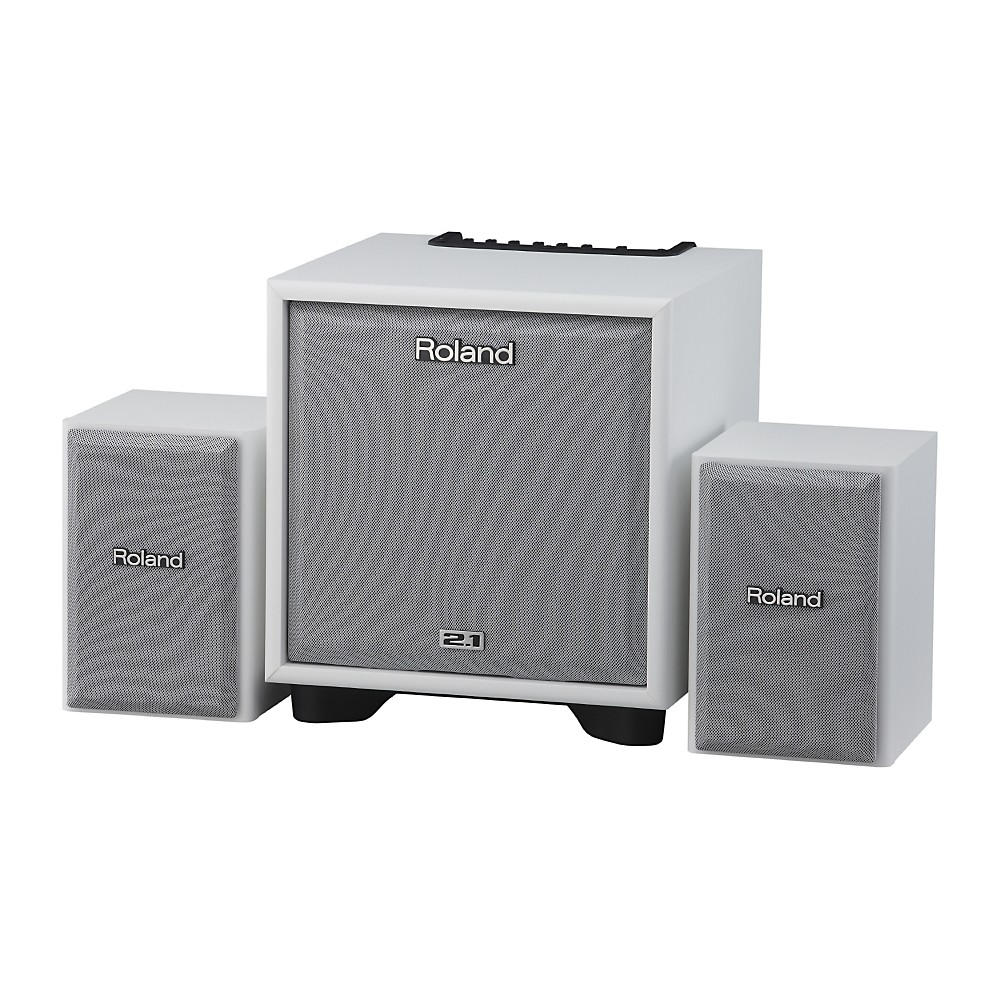Roland CM-110 2.1 CUBE Monitor System White