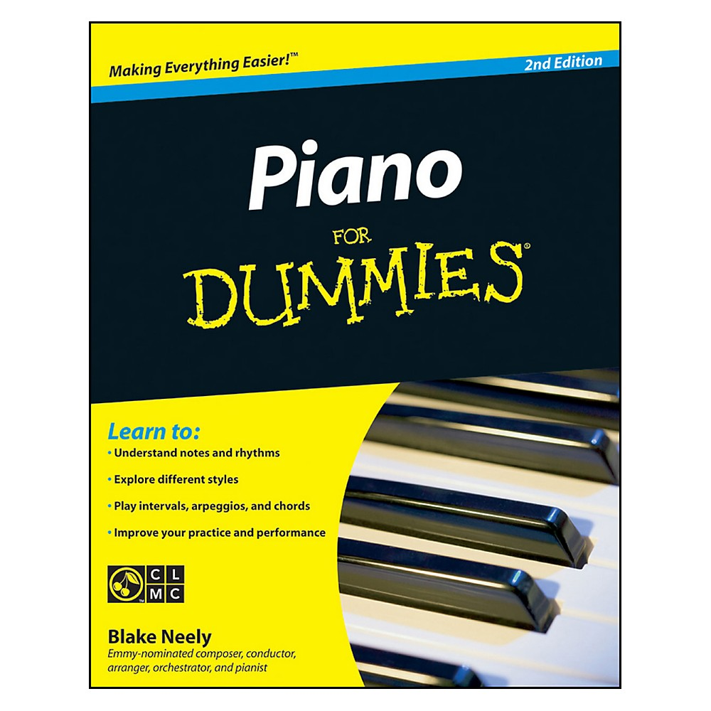Mel Bay Piano for Dummies, Second Edition Book/CD Set
