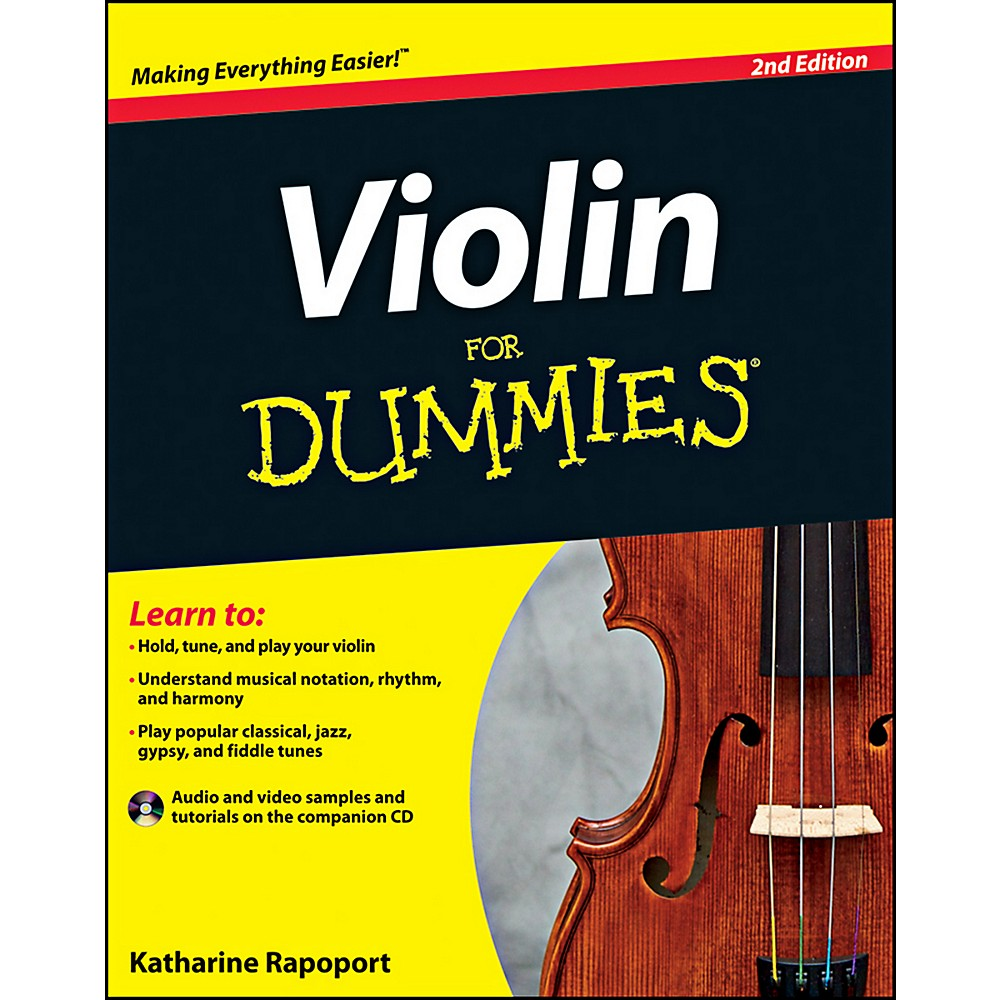 Mel Bay Violin For Dummies Book/CD Set