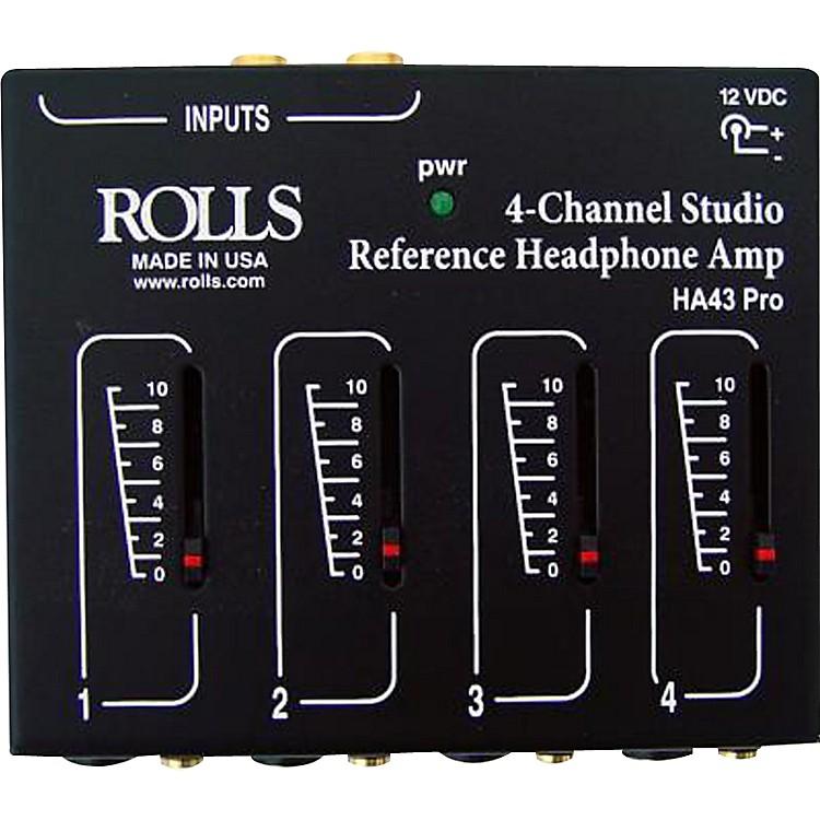 RollsHA43 Stereo Headphone Amp
