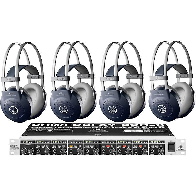 AKGHA8000/K77 Headphone Four Pack