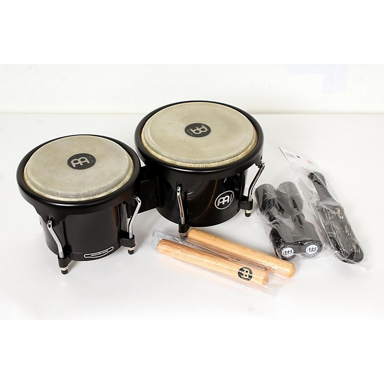 Meinl HB50 Bongo Set with Free Shaker and Claves Regular 888365830223