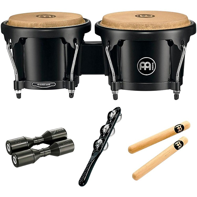 MeinlHB50 Bongo Set with Free Shaker and Claves