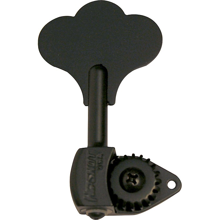 Hipshot HB6C-3/8 Bass Tuning Machine Set Black
