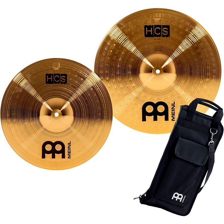 Meinl HCS-C2 Double Crash Pack with FREE Stick Bag