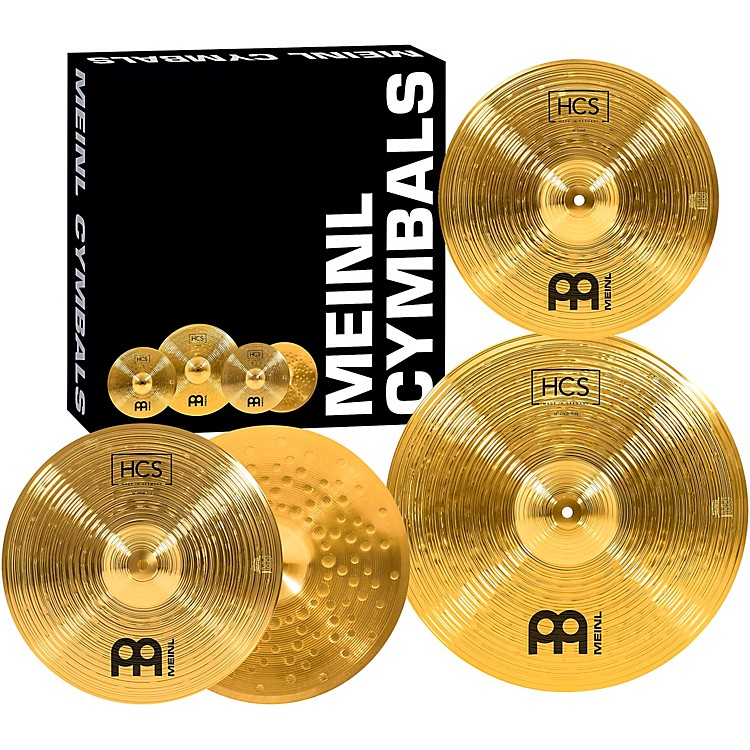 MeinlHCS Cymbal Pack with Free 14 Inch Crash