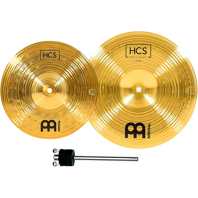 Meinl HCS-FX Splash and China Cymbal Effect Stack with FREE Stacker 10 in. Splash and 12 in. China